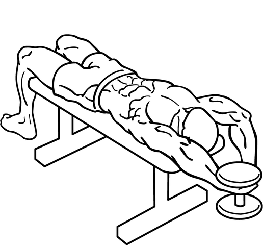 dumbbell overhead extension