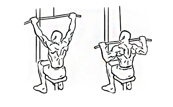 lat pulldown machine instructions