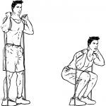 bands squat